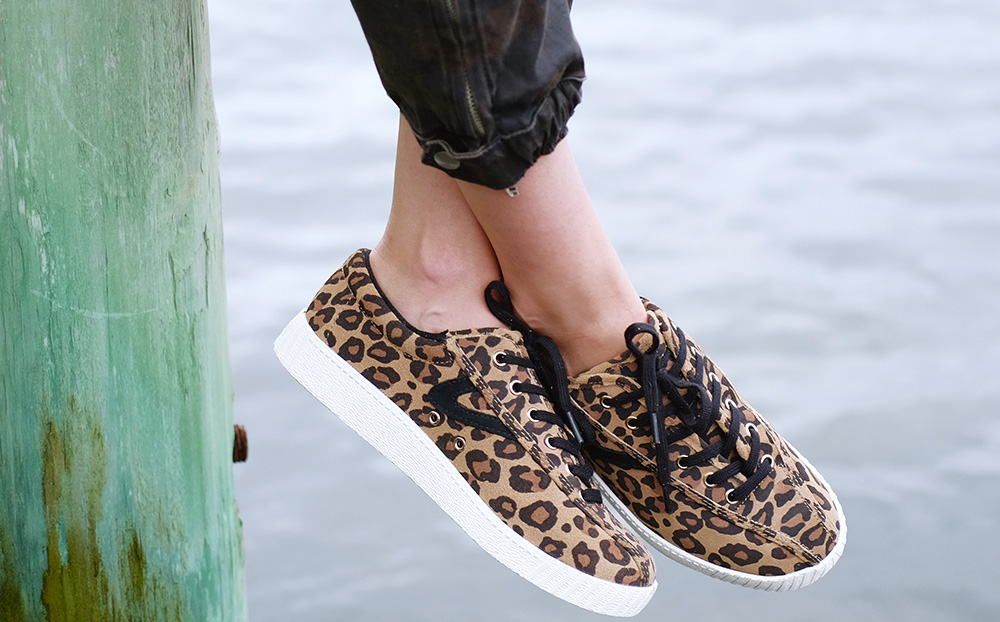 Favorite Leopard Print Sneakers